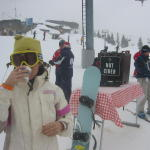 the best things in life etc. hot cider on aspen mtn
