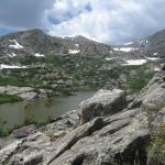 alpine_lake atop mcgullouch gulch